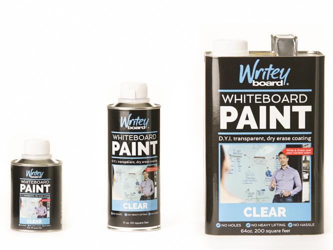 Whiteboardfärg Transparent S M L