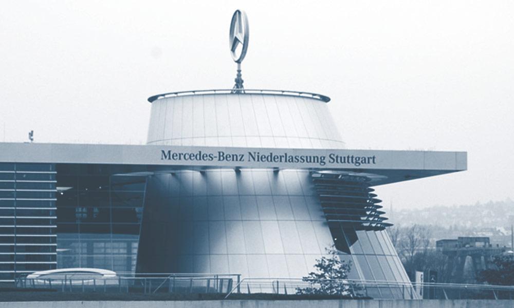 Wallrites projekt på Daimler Benz