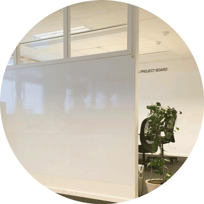 Unikt och dynamiskt whiteboard-koncept
